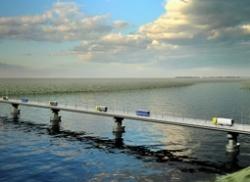 Мост через протоку Амурская обещают сдать в октябре 2013 года
