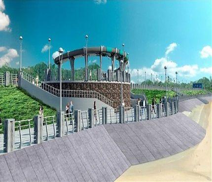 Проект набережной в Комсомольске