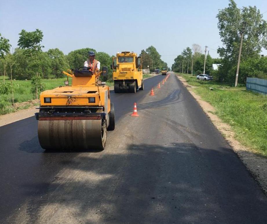 Ремонт дорог идет в Галкинском сельском поселении Хабаровского района