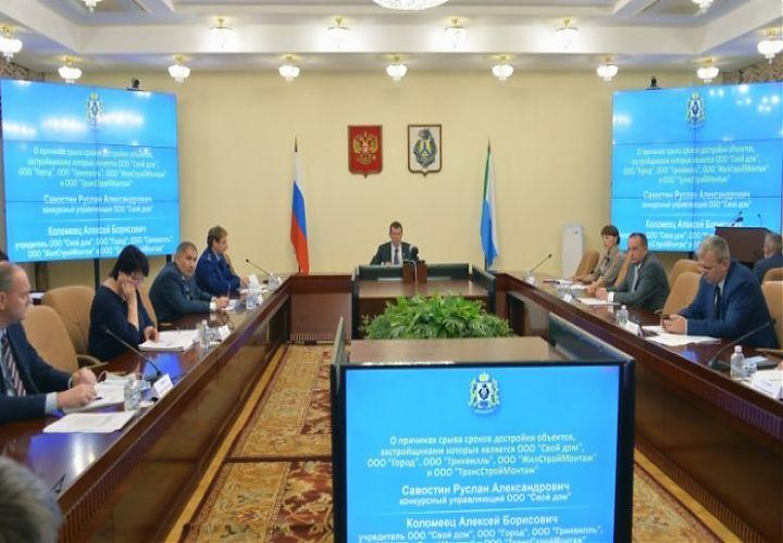 Михаил Дегтярев: Проблемы обманутых дольщиков в крае необходимо решить к октябрю 2021 года