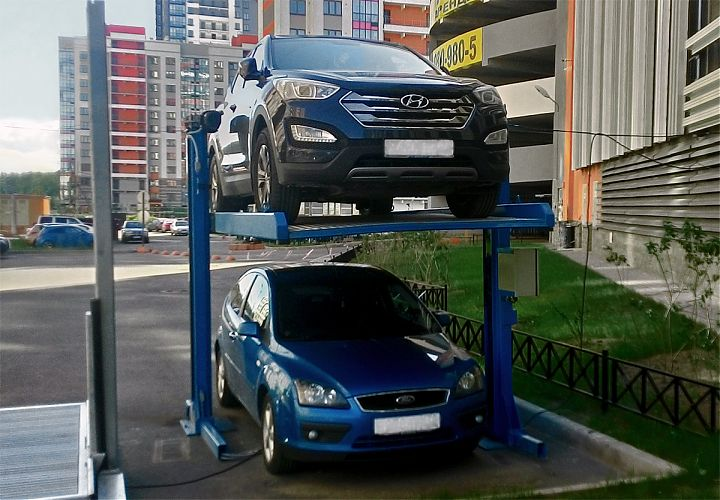 Инновационные решения проблемы нехватки парковочных мест в крупных городах Дальнего Востока