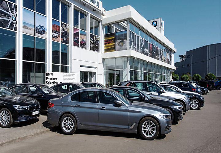 Партия парковочных подъемников MehPark для автосалона BMW